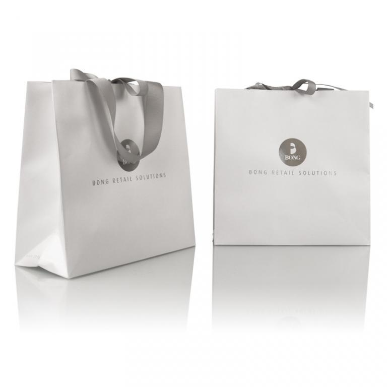 BONG Retail Solutions - top over turn carrier bag