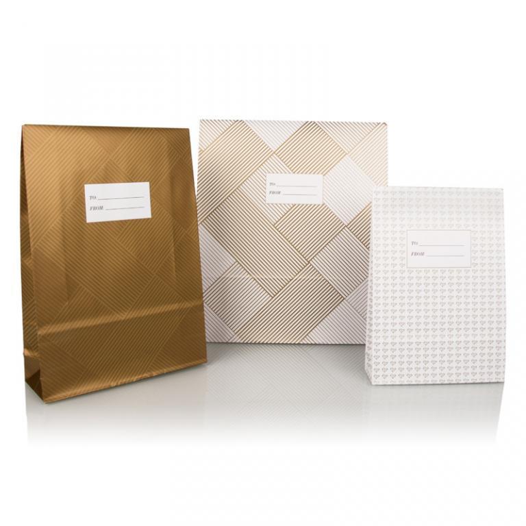 Bong Retail Solutions - Lindex_Retail_Gift_Bag_gold_2018